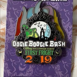 Disney Oogie Boogie Bash pin Limited Edition 2019